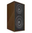 acoustic loudspeaker 02 vector image vector image