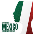 happy mexico independence day september 16 vector image vector image