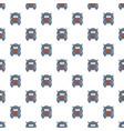 oil tanker truck pattern vector image vector image