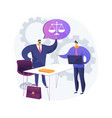 paralegal services abstract concept vector image vector image