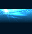 realistic underwater background vector image