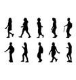 walk - copy vector image vector image