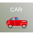 Old car retro vector image