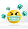 corona virus or anti bacterial cartoon