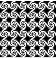 Design seamless spiral trellis background vector image vector image