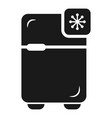 fridge icon simple style vector image vector image