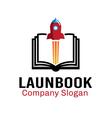 Launch Book Design vector image vector image