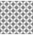 Polka dot geometric seamless pattern 4411 vector image