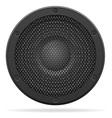 acoustic speaker 02 vector image