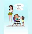 digital funny comic cartoon vector image vector image