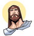 jesus portrait vector image