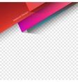 Polygonal Material Design vector image vector image