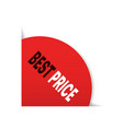special offer sale best price promo marketing vector image