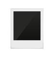 polaroid frame photo vector image