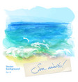 background seascape vector image vector image
