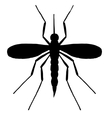 High quality mosquito vector image vector image