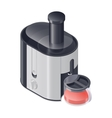 Juicer detailed isometric icon vector image