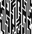 monochrome aztec geometric seamless pattern vector image vector image