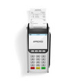 realistic 3d detailed bank pos terminal vector image vector image