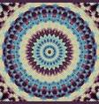 seamless mosaic art pattern vector image vector image