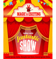 Show poster vector image