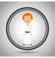 sports practice design vector image