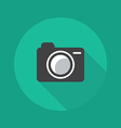 Technology Flat Icon Camera vector image