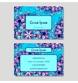 Visiting card and business card set Abstract