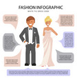 white tie dress code vector image