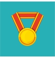 winner medal isolated icon vector image vector image