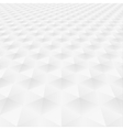 Abstract background with white shapes vector image vector image