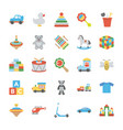 children and kids icons vector image vector image