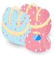 Female Set of Bags for Travelling vector image