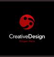 letter ii innovation creative modern logo vector image vector image