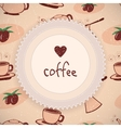 Love Coffee Background
