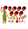 teen girl indian hindu teenager leisure vector image