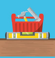 tool box to repair service vector image vector image