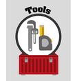 Tools design vector image vector image