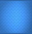 metal textured panel in blue color steel surface vector image