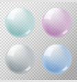 soapbubbles vector image
