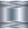 Abstract metallic background vector image vector image