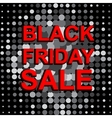 Big sale poster with BLACK FRIDAY SALE text vector image vector image