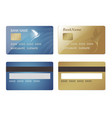 creditcard vector image