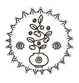 feminine symbol and sacred vector image vector image
