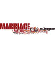 marriage quiz text background word cloud concept vector image vector image