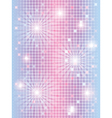 mosaic background with lights vector image vector image