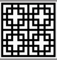 square ornament vector image
