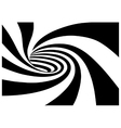 Whirl pool spiral vector image vector image