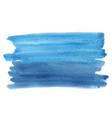 abstract blue and indigo blue watercolor vector image
