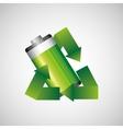 battery power design vector image vector image